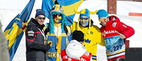 20130324 svenska skidspelen 2013 söndag fans publik FOTO: ULF PALM          Falun2015, Falun 2015, Skid VM 2015, SkidVm, VM